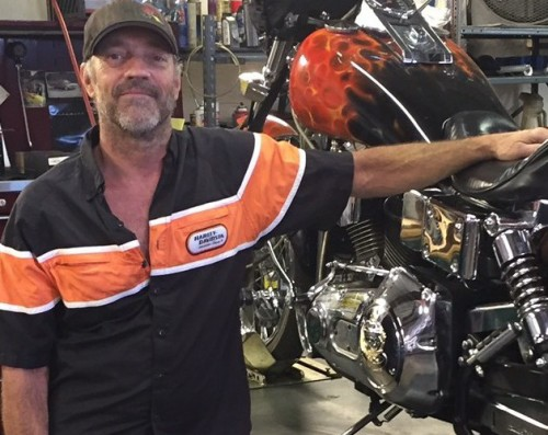 Bob Nation, Factory-Certified Harley Davidson Master Technician