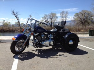 2007 HD Softail with Paughco Trike Kit