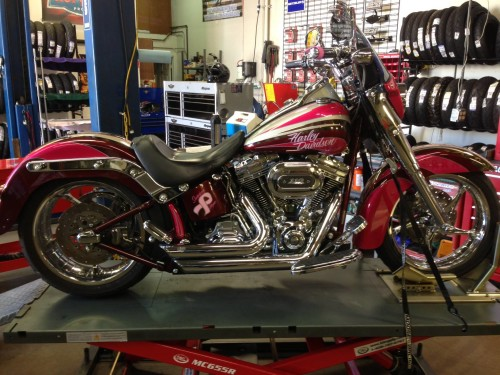 Pink_Softail_convertible