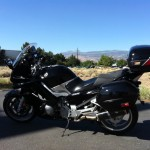 Brian's 2008 Yamaha FJR1300. Two Brothers Exhaust, Power Commander, Air Box Mod, Customer Dynotune. Hyperpro Remote Reservoir Rear Suspension with High and Low Dampening. Hyperpro front suspension.